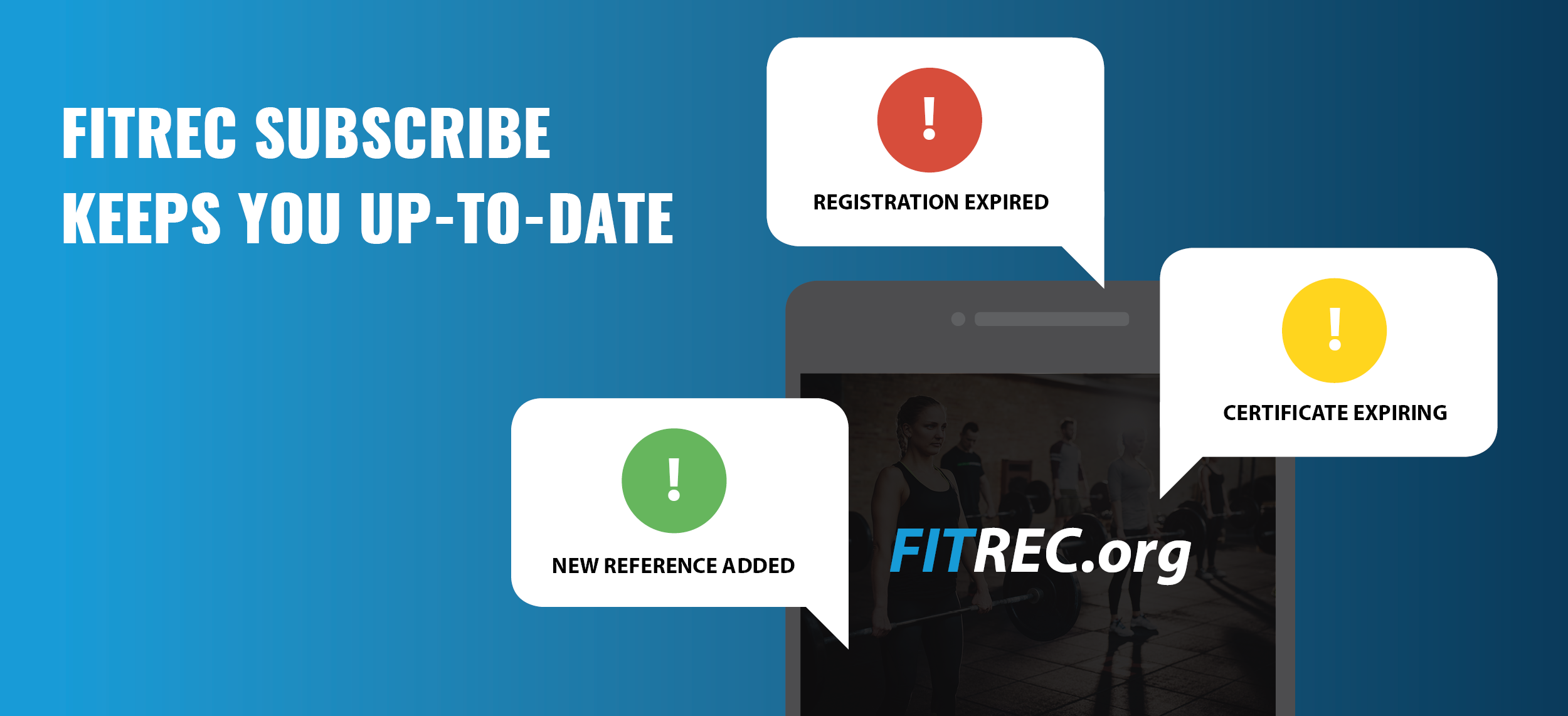 FITREC-Subscribe